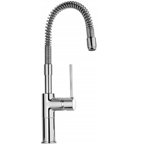 Paini Cox Spring Side Lever Monobloc Kitchen Mixer Tap